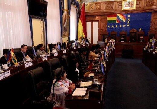 دولت موقت بولیوی لایحه انتخابات جدید را تقدیم کرد