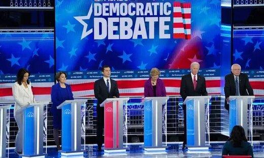 در پنجمین مناظره نامزدهای دموکرات چه گذشت؟
