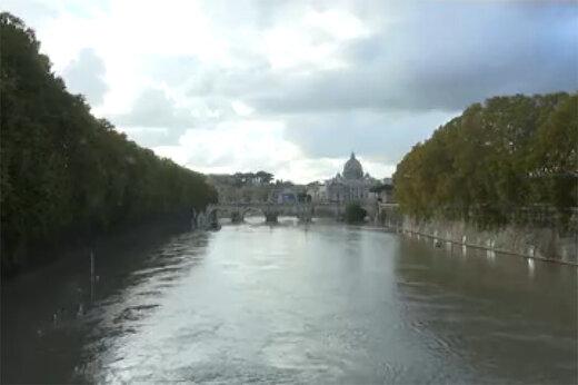 فیلم | بارندگی شدید و جاری شدن سیل در شمال ایتالیا