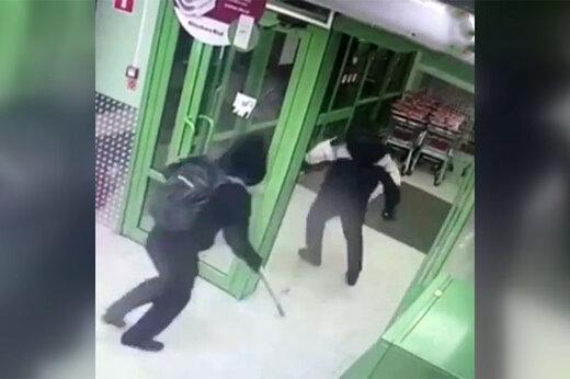 فیلم | سرقت از دستگاه خودپرداز نزدیک مسکو با انفجار