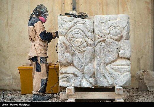 نهمین سمپوزیوم بینالمللی مجسمه سازی تهران