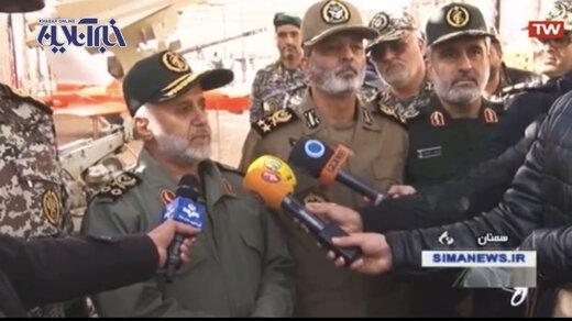 فیلم | هشدار کم سابقه سردار غلامعلی رشید به آمریکا برای حفظ جان سربازانشان در خلیج فارس