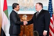 پمپئو با همتای اماراتی خود درباره ایران گفتگو کرد