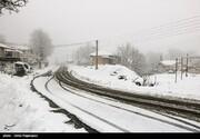 تصاویر | منظره ییلاق رامسر پس از برف پاییزی