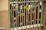 تصاویر | دیدار دادستان کل کشور با بازداشتشدگان ناآرامیهای بنزینی در زندان فشافویه