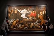 اعتراض گیاهخواران به تابلوی نقاشی قرن هفدهم