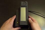 فیلم | اولین گوشی هوشمند دنیا این شکلی بود
