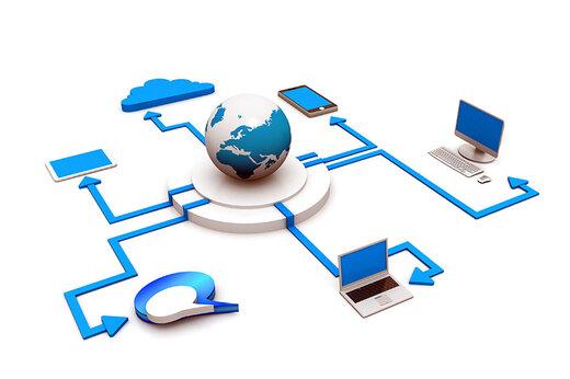 رئیس سازمان قضایی نیروهای مسلح:دشمن از قطع اینترنت عزا گرفت
