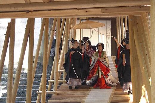 فیلم   مراسم ویژه تکیه زدن امپراتور ژاپن بر تخت سلطنت
