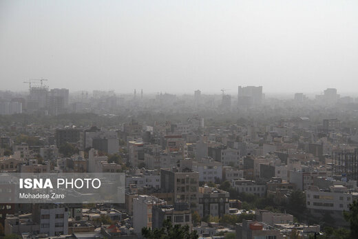 فردا مدارس اصفهان به علت آلودگی هوا تعطیل شد