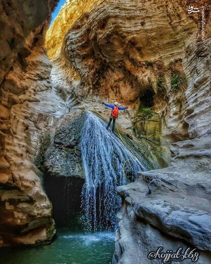 آبشار زیبای دَرزو عسلویه
