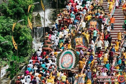 جشنواره تایپوسام؛ آیین هندو و عجیبی همراه با سوراخ کردن بدن!