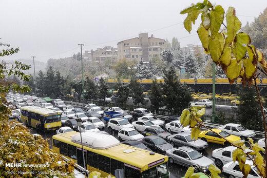 هر شهروند تهرانی در سال ۳۰۰ساعت خود را در ترافیک از دست میدهد