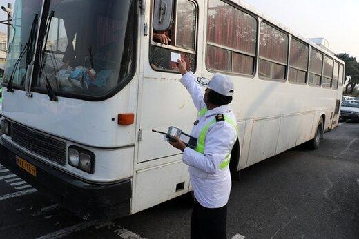 اجرای طرح برخورد با خودروهای دودزا در ۶۰ نقطه تهران