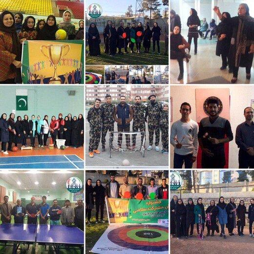 رییس هیئت ورزش های همگانی شهرستان سمنان خبر داد؛پایان جشنواره ورزش، مشارکت، سلامتی ویژه سازمان های مردم نهاد شهرستان سمنان