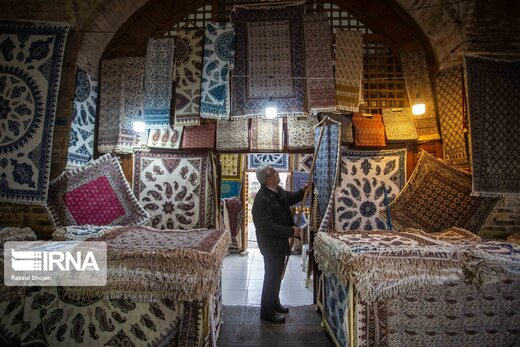 پارچه ی قلمکاری اصفهان