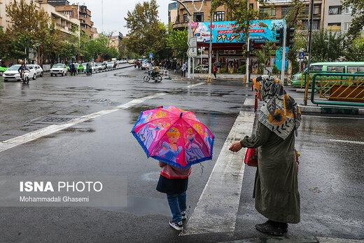 ورود سامانه بارشی جدید به کشور از روز پنجشنبه