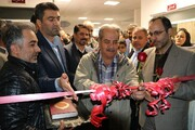 پلاتوی هنرستان دخترانه هنرهای زیبا سنندج افتتاح شد