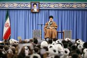 قائد الثورة: الشعب الإيراني أثبت مرة أخرى بأنه قوي وعظيم