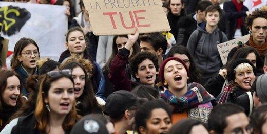 اعتراض دانشجویان فرانسوی به بودجه ندادن دولت به دانشگاهها