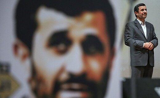 ترافیک احمدینژادیها پشت درِ مجلس/ پرچمداران کاندیداتوری ۹۸