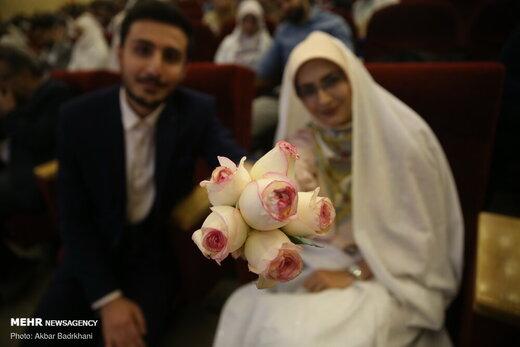 جشن ازدواج دانشجویی «شاخه نبات»