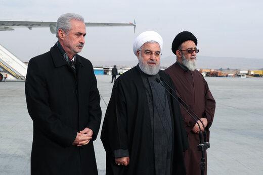 رئیس جمهور به تبریز سفر کرد