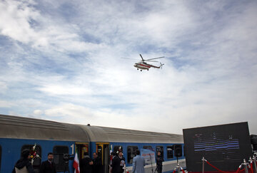 افتتاح خط آهن میانه- بستان آباد