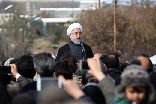 فیلم   روحانی: تلاشها برای عادی سازی شرایط در مناطق زلزله زده ادامه دارد