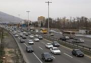 ترافیک در جاده هراز سنگین است