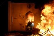 فیلم   هدف آشوبگران عراقی از آتش زدن کنسولگری ایران در نجف چه بود؟