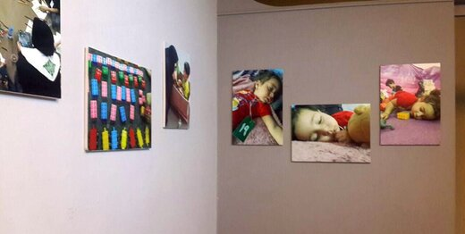 روایتی از حضور کودکان در اربعین / عکس
