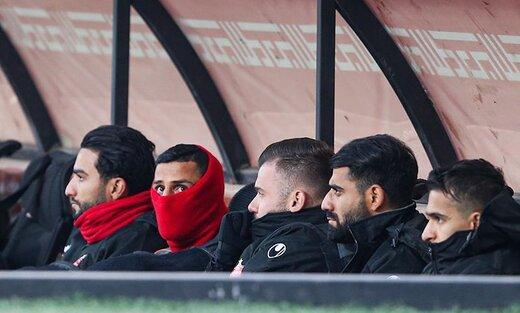 شارژ مالی پرسپولیسیها قبل از بازی مقابل نساجی