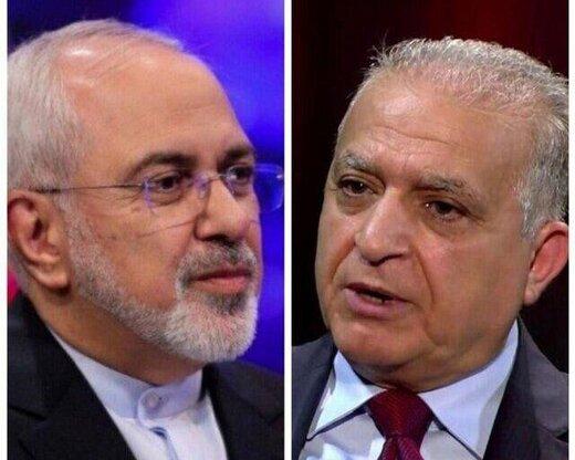 وزیر خارجه عراق در گفتگو با ظریف، از ایران عذرخواهی کرد