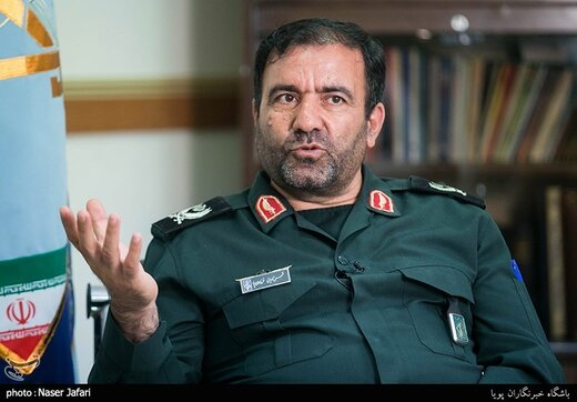 فرمانده عملیات هوایی هوافضای سپاه: قدرت موشکی ایران، دشمنان را می ترساند/پیشرفتهترین سلاحها را تولید میکنیم
