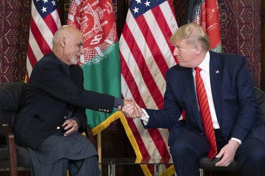 فیلم   خبر مهم اما همراه با تردید ترامپ در سفر سرزده به افغانستان