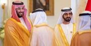 دیدار بن سلمان با حاکم دبی/عکس