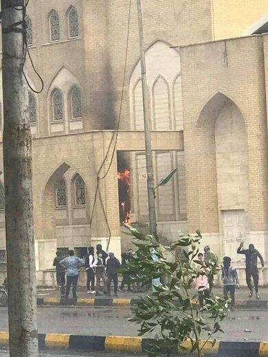 حمله نقابداران عراقی به مقبره شهید باقر حکیم