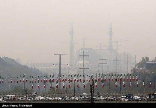 تهران در جایگاه دومین شهر آلوده جهان قرار گرفت!/ عکس