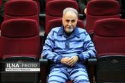 تصاویر | نجفی در دادگاه جدید پرونده قتل میترا استاد