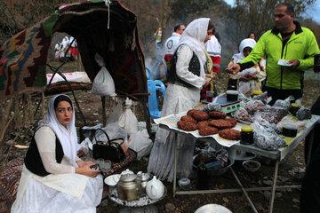 عروس بران محلی در جشنواره فرهنگی اربادوشاب