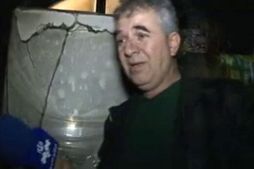 فیلم | اخبار تلویزیون باز سراغ مردی رفت که گریه کرد گفت جهیزیه دخترم را آتش زدند