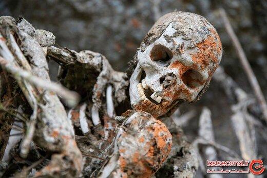 رسوم عجیبی که برای دفن مردگان در سراسر جهان برگزار می شود!