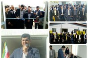 افتتاح مدرسه ۳ کلاسه روستای ریقان شهرستان چگنی