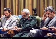 تصاویر | جلسه شورای شهر تهران با حضور سردار یزدی فرمانده سپاه محمد رسول الله