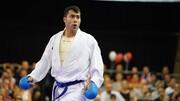 کار کاراته ایران در لیگ جهانی با طلای گنجزاده به پایان رسید
