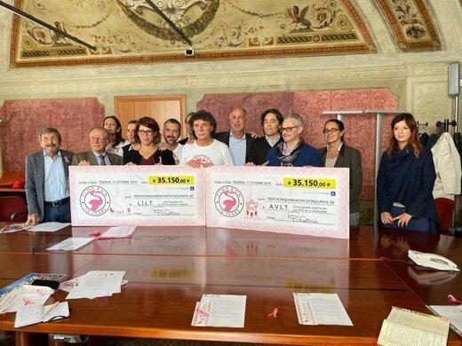 اسپار ایتالیا، حامی مالی تحقیقات پزشکی