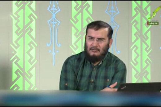 فیلم | توهین مجری شبکه وهابی به هواداران پرسپولیس!