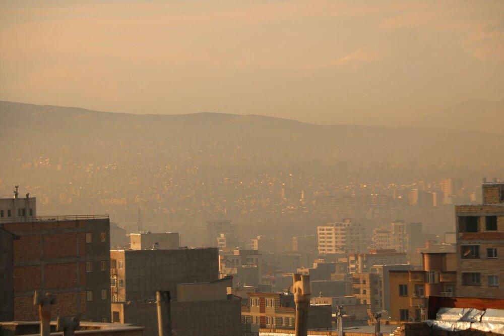 آلودگی هوای ارومیه 10 آذر 98