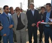 افتتاح پروژه مخابراتی کافوی نوری مجتمع ۲۸۸ واحدی در  بروجرد
